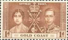 [Coronation of King George VI and Queen Elizabeth, type P]
