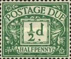 [Numeral Stamps - New Watermark, Typ A23]