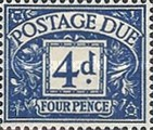 [Numeral Stamps - New Watermark, Typ A38]