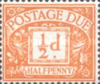 [Numeral Stamps - New Watermark, Typ A40]