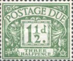 [Numeral Stamps - New Watermark, Typ A42]