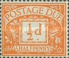 [Numeral Stamps - New Watermark, Typ A48]