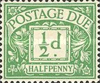 [Numeral Stamps - New Watermark, Typ A8]