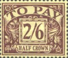 [Numeral Stamps - New Watermark, Typ B4]