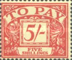 [Numeral Stamps - New Watermark, Typ B5]