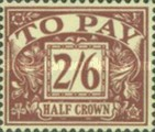 [Numeral Stamps - New Watermark, Typ B6]