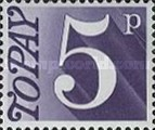 [Numeral Stamps, Typ D5]