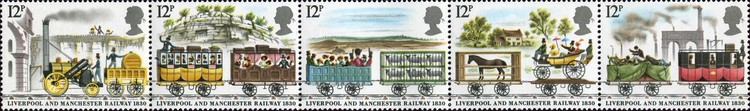 [The 150th Anniversary of the Liverpool-Manchester Railroad, Typ ]
