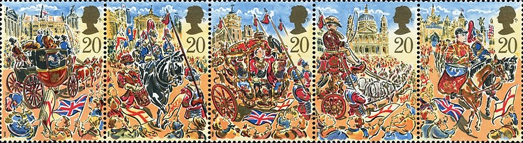 [The 800th Anniversary of the Show of Lord Mayor, Typ ]