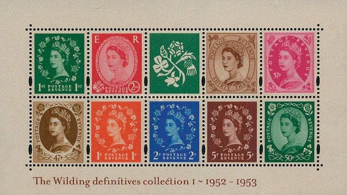[The Wildings Definitives Collection I - 1952-1953, Typ ]