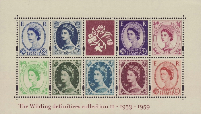 [The Wilding Definitives Collection II - 1953-1959, Typ ]