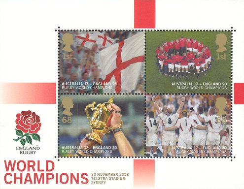 [England, Winners of the World Cup of Rugby, Typ ]