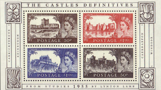 [The 50th Anniversary of the Castle Definitives, Typ ]