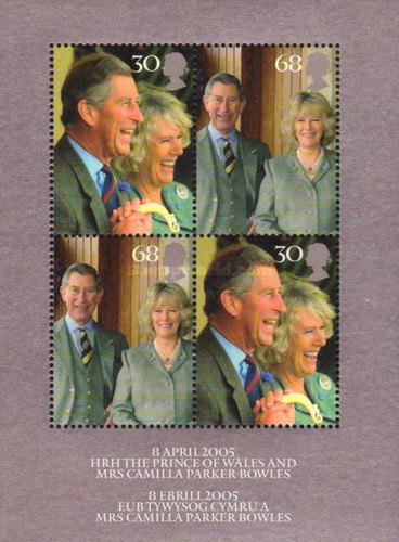 [Royal Wedding of HRH Prince Charles to Mrs Camilla Parker Bowles, Typ ]