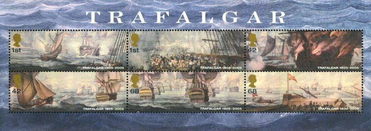 [The 200th Anniversary of the Battle at Trafalgar, Typ ]