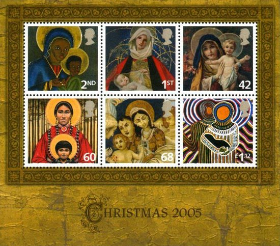 [Merry Christmas - Self-Adhesive Stamps, Typ ]