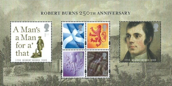 [The 250th Anniversary of the Birth of Robert Burns, 1759-1796, Typ ]