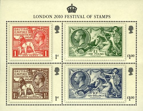 [London 2010 - Festival of Stamps, Typ ]