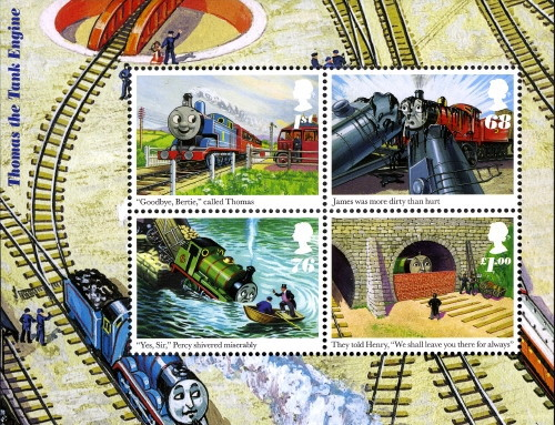[The 100th Anniversary of the Birth of Wilbert V. Awdry, 1911-1997, Typ ]
