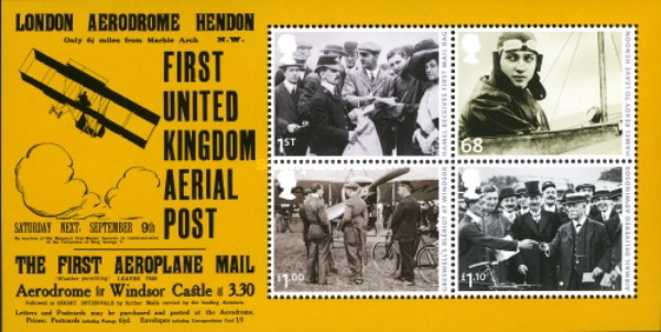 [The 100th Anniversary of Air Mail, Typ ]