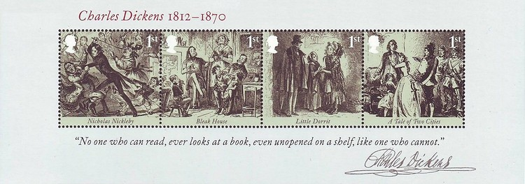 [The 200th Anniversary of the Birth of Charles Dickens, 1812-1870, Typ ]
