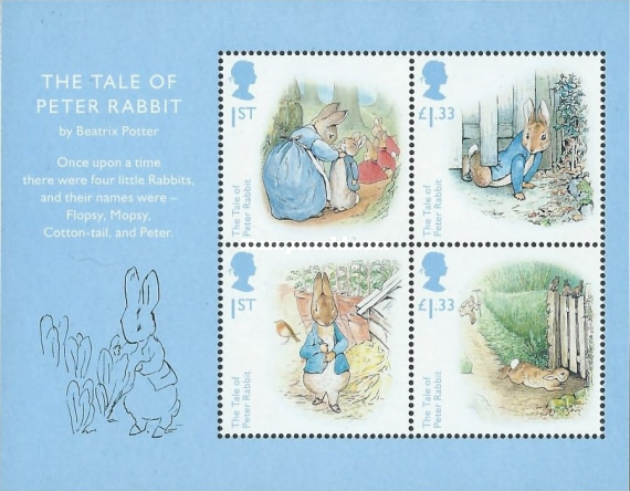 [The 150th Anniversary of the Birth of Beatrix Potter, 1866-1943, Typ ]