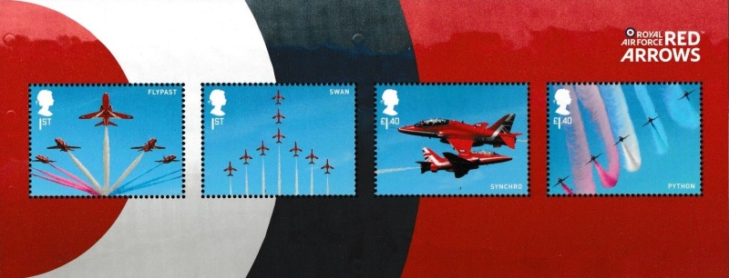 [The 100th Anniversary of the RAF - Royal Air Force - Red Arrows Aerobatic Team, Typ ]
