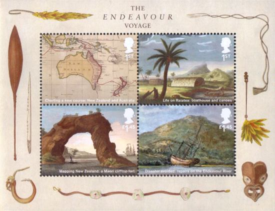 [Captain James Cook, 1728-1779 - The Voyage of the Endeavour, type ]