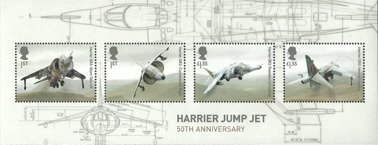 [British Engineering - The 50th Anniversary of the Harrier Jump Jet, type ]