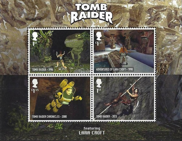 [Classic Video Games - Tomb Raider, type ]