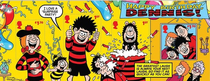 [Dennis and Gnasher, type ]