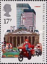 [The 350th Anniversary of the Royal Mail Service, Typ AAV]