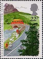 [The 350th Anniversary of the Royal Mail Service, Typ AAW]