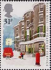 [The 350th Anniversary of the Royal Mail Service, Typ AAX]