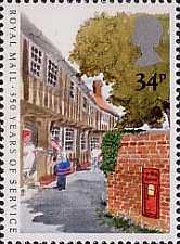 [The 350th Anniversary of the Royal Mail Service, Typ AAY]