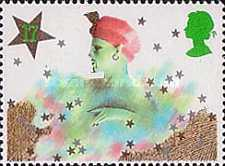 [Christmas Stamps, Typ ABJ]
