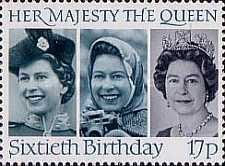 [The 60th Anniversary of the Birth of Queen Elizabeth II, Typ ABW]