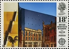 [EUROPA Stamps - Modern Architecture, Typ ADF]