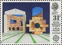 [EUROPA Stamps - Modern Architecture, Typ ADH]