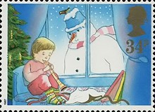 [Christmas Stamps, Typ AEC]