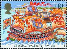 [The 400th Anniversary of the Spanish Armada, Typ AEX]