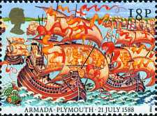 [The 400th Anniversary of the Spanish Armada, Typ AEY]