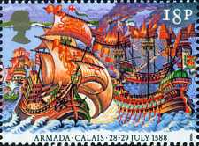 [The 400th Anniversary of the Spanish Armada, Typ AFA]