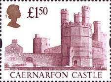 [British Castles - 1988 Issue Re-Engraved, Typ AFH1]
