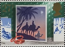 [Christmas Stamps, Typ AFM]