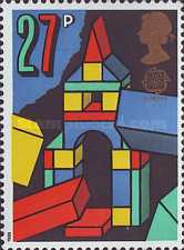 [EUROPA Stamps - Children's Games, Typ AGH]