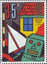 [EUROPA Stamps - Children's Games, Typ AGJ]
