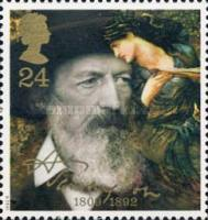 [The 100th Anniversary of the Death of Lord Alfred Tennyson, Typ AME]