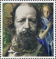 [The 100th Anniversary of the Death of Lord Alfred Tennyson, Typ AMF]