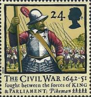 [The 350th Anniversary of the English Civil War, Typ AMN]